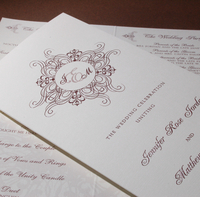 image of Jennifer J Wedding Program